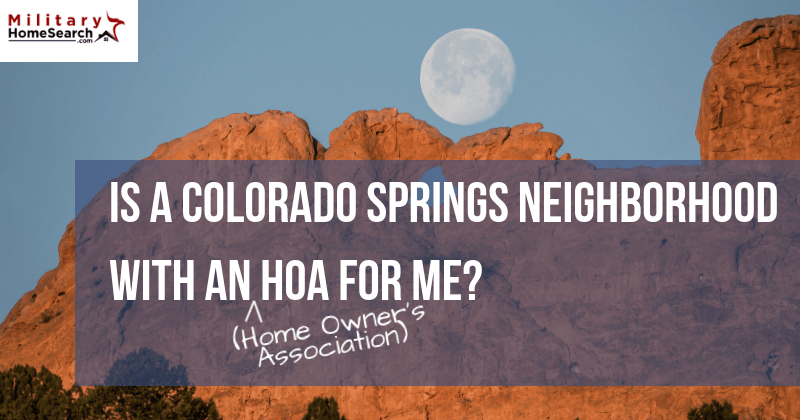 What to Know About HOA Communities in Colorado Springs