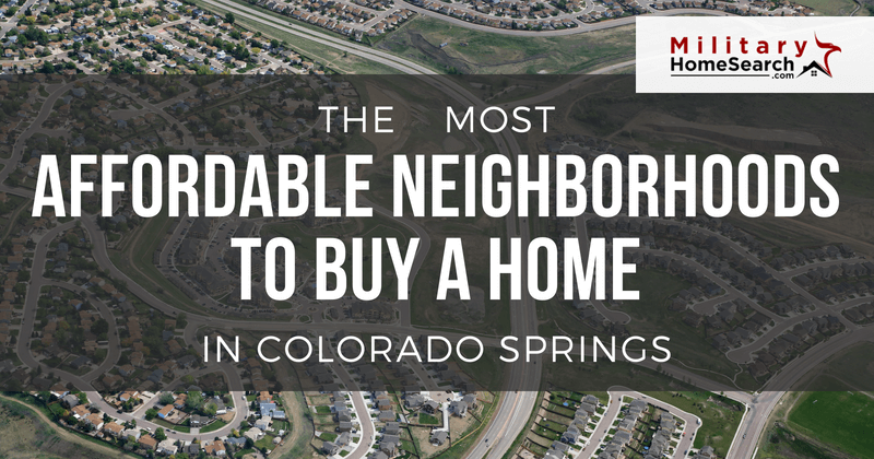 Affordable Neighborhoods In Colorado Springs To Buy A Home