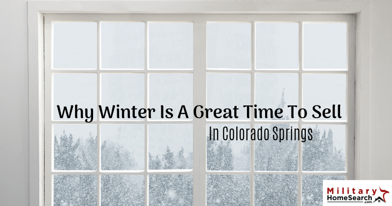 Why Winter Is a Great Time to Sell in Colorado Springs