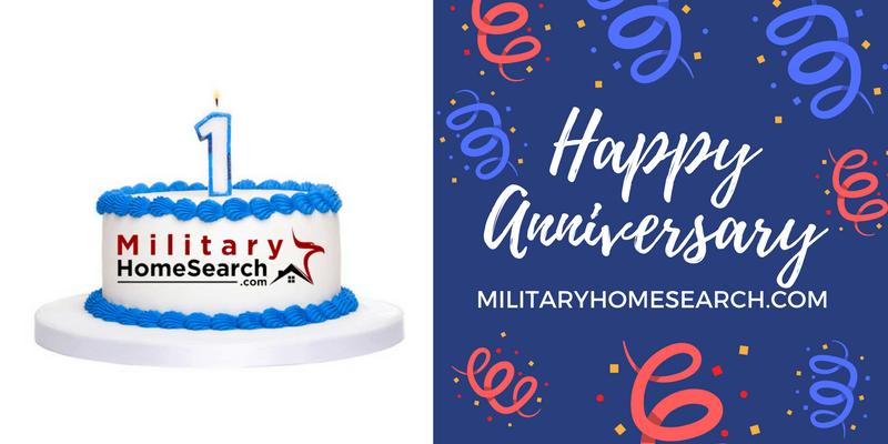 happy 1 year anniversary to militaryhomesearch com