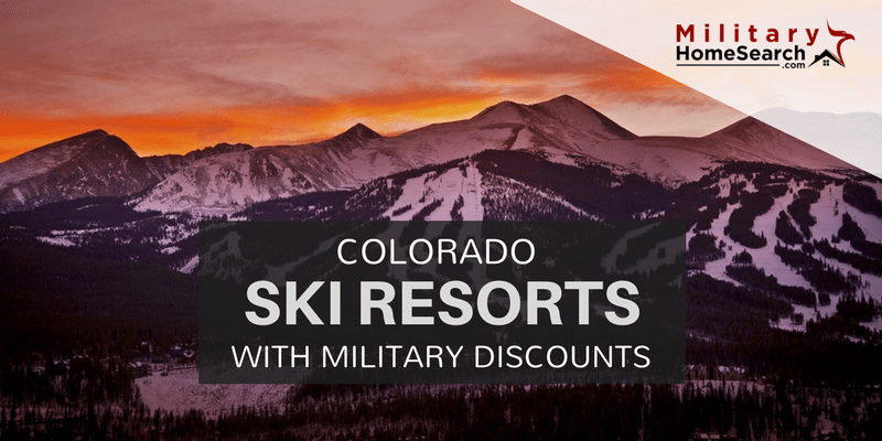 Colorado Ski Resorts with Military Discounts