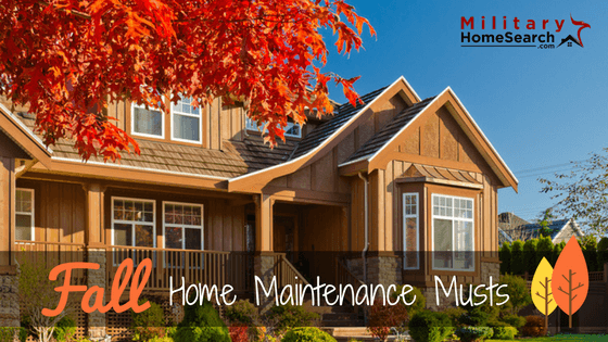 Fall home maintenance tips