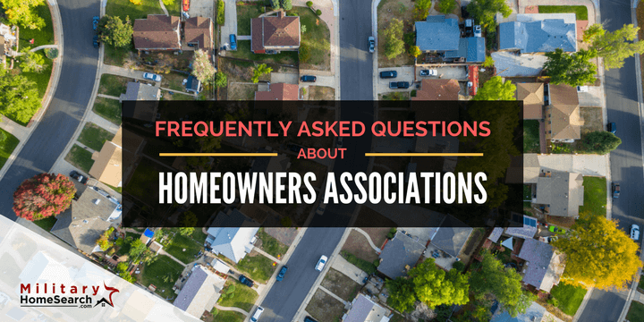 Frequently Asked Questions About Homeowners Associations