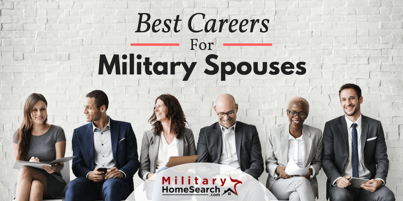 best jobs for military spouses