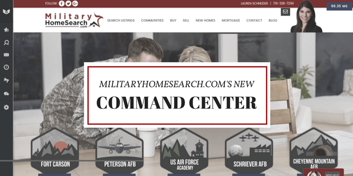 MilitaryHomeSearch.com Launches New Command Center To Customize The Home Buying Experience