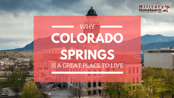 Why Colorado Springs is a great place to live