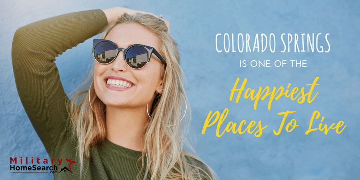 Colorado springs named one of the happiest places to live for Happiest places to live