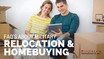 military relocation and homebuying