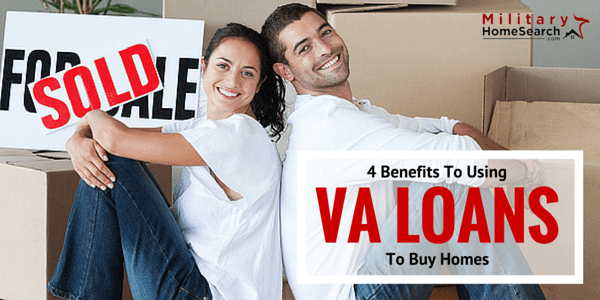 Benefits to using a VA loan to buy homes